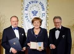 Angela Merkel - BnaiBrith-Auszeichnung