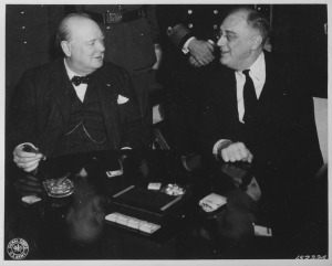 Churchill - Roosevelt