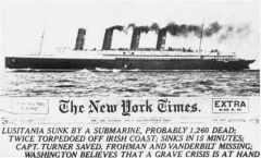 Lusitania_Zeitungsmeldung